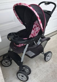 Safety First Pink Camo Babies Girls Stroller Foldable Modesto