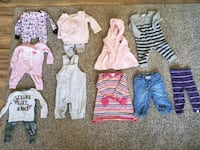 6-9 month baby girl fall/winter clothes Hagerstown, 21740