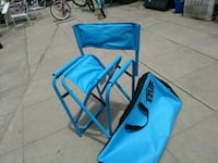 blue and black camping chair Ontario, 91764