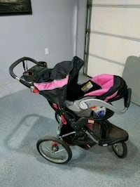 Car seat, stroller, play area