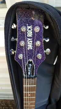 Daisy Rock Candy Electric Guitar and amp GERMANTOWN