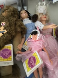 Wizard of oz action figures TCM 1987