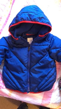 Baby Gap Size 2T Winter Hooded Puffer Ski Jacket Boys Coat Snow Haverhill, 01832