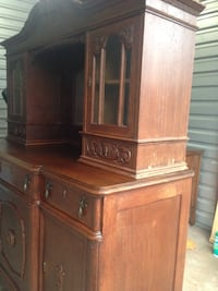 19th Century Oak Hutch  Fairfax Station