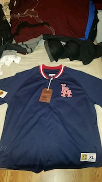 Mitchell & Ness Los Angeles Angels Jersey Los Angeles, 91342
