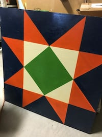 4x4 barn quilt square Taylorsville, 28681