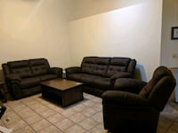 Sofa/Loveseat/Recliner Set Gilbert
