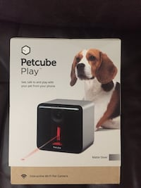 Petcube Play Indoor 1080p Wi-Fi Camera Matte Silver Springfield, 22151
