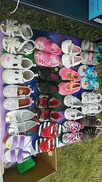 toddler's assorted shoes Schenectady, 12308