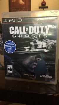 Call of Duty Ghosts PS3 game case Cathedral City, 92234