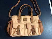 women's white and brown leather shoulder bag Midvale, 84070