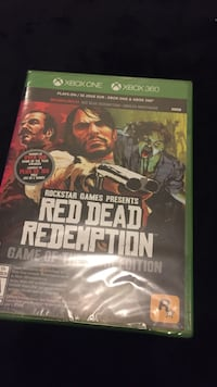 Red Dead Redemption Xbox One and 360 game