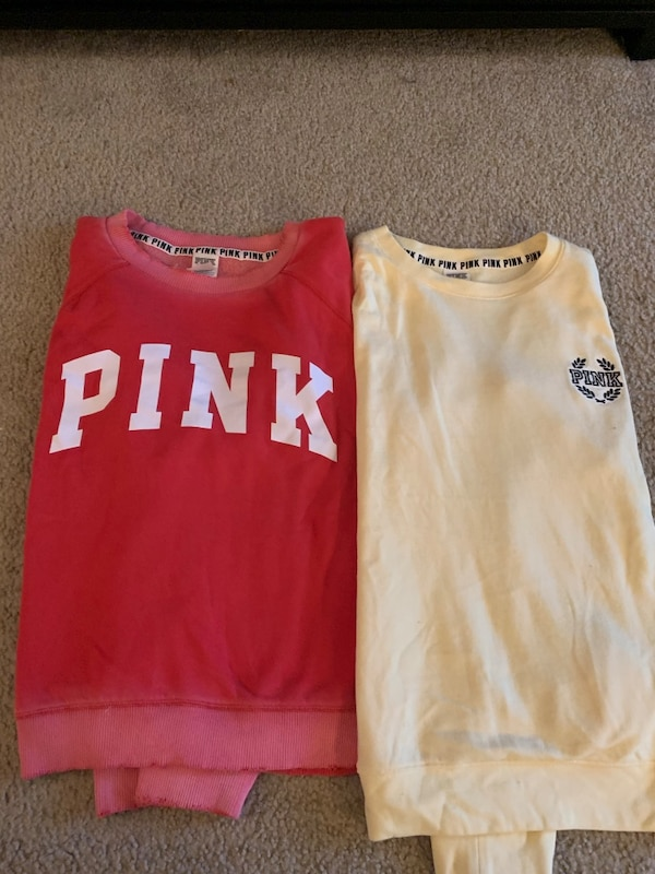 *UPDATED 13 Piece Lot of PINK Clothing 70de609d-f943-483b-a312-8941ac851f18