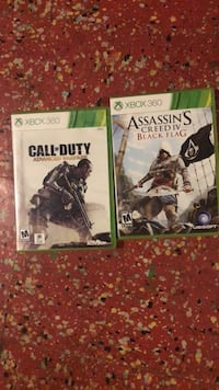 two Xbox 360 game cases Sycamore, 60178