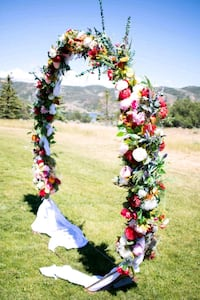 Wedding Circle Arch Bountiful