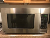 Microwave - GE stainless steel counter - excellent condition Newburgh, 12550