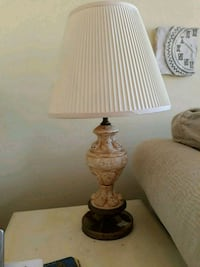 brown and white table lamp Olney, 20832