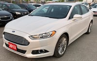 2013 Ford Fusion *Leather* *Certified* *Navigation* *Rear View Camera* Brampton, L6V 3G2