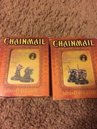 Two Dwarven Chainmail miniatures