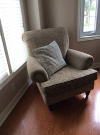 Beige patterned arm chair Whitchurch-Stouffville, L4A 3G7