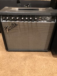 electric guitar + 25R amp. I have case for  guitar.