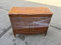 brown wooden 2-drawer chest Barrie, L4N 4P3
