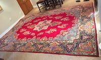 Extra large Red Persian Rug 14.5 ft X 11.5 ft Vaughan, L0J 1C0