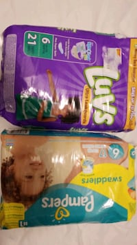 Size 6 diapers