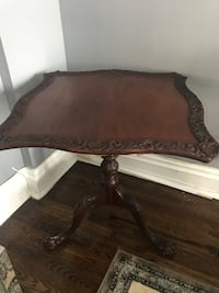 brown wooden framed glass top coffee table Richmond Hill, L4C 9B4