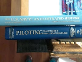 Two books Navy An Illustrated History