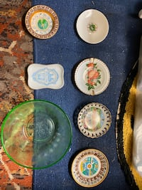 Small glass plates and one glass bowl Allentown, 18103