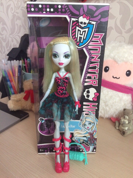Кукла Monster High MOSCOW