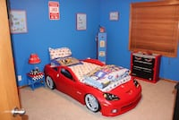 Full Boy Room Corvette with many items, see description for details  Omaha, 68135
