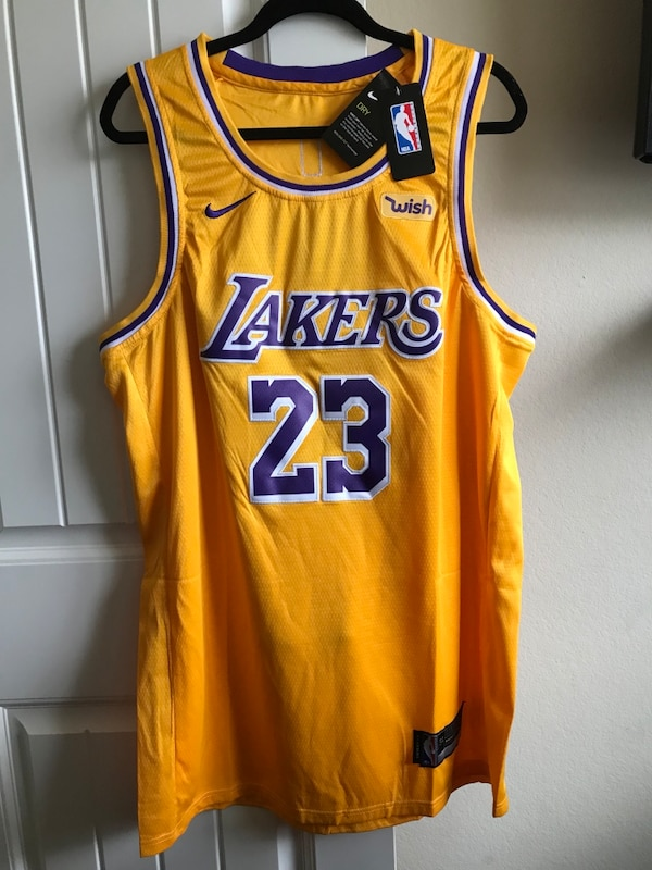 216429a1cc44 Used Lebron James Lakers Jersey for sale in McKinney - letgo
