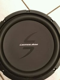 black and gray Pioneer subwoofer Edmonton, T5E 5R8