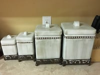 Canister set with bases Sanford, 32773