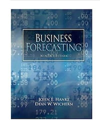 Business Forecasting. Ninth edition. Hanke and Wichern