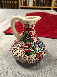 Beautiful ceramic carafe for holding olive oil or heavy cream   Los Angeles, 90036