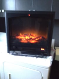Electric fireplace with fan Morinville, T8R 1G4