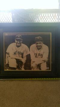 Babe Ruth Lou Gehrig photo Cockeysville, 21030