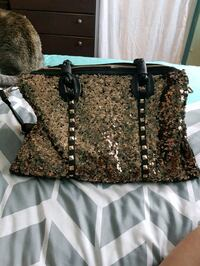 women's brown and black tote bag.new never used Penticton, V2A 4S9