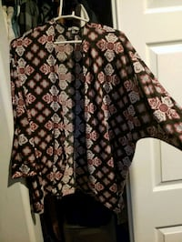 black and brown floral print long sleeve shirt Oxnard, 93033