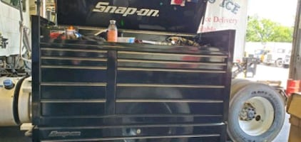 Kra doublebank snap on toolbox top and bottom