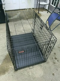 black metal folding dog crate Frederick, 21702