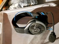 black and blue corded headphones Fresno, 93726