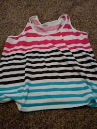 white and pink stripe tank top Manchester, 37355