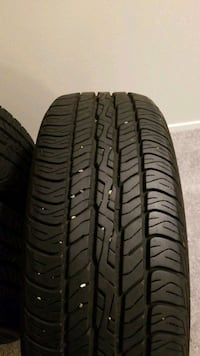 4 black vehicle tire set 215 60 17 Silver Spring, 20906