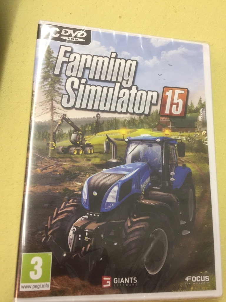Farming Simulator 15 pc dvd rom spill