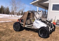 brown and black dune buggy