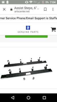 Original gm parts 6 inch tubular stepside bars 4dr Salyersville, 41465